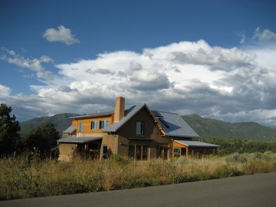 Photo for Elegant solar home  - Midway between Taos and Taos Ski Valley