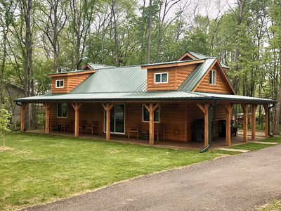 Photo for **New Construction** Cozy cabin next to winery!
