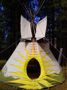 Photo for Reconnect to the Earth and Nature by experiencing the Tipi to the Sun.
