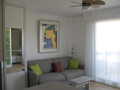Photo for Two-room between beach, marina, and Relais Thalasso-shops