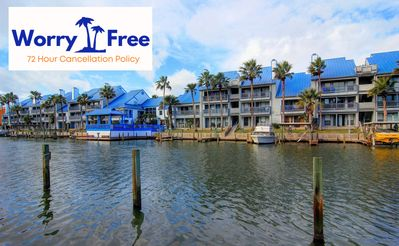Photo for Come Enjoy this 3 bedroom Waterfront condo with a great Sunset View!