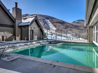 Photo for Ski-In / Ski-Out Resort Condo with Gas Fireplace!