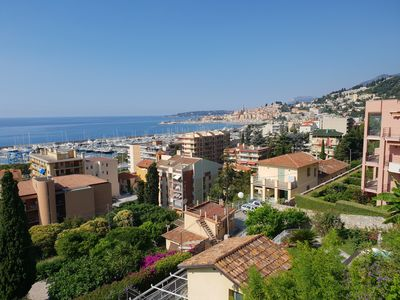 Photo for The blue house, lovely apartment in the Côte d'Azur for 6 people
