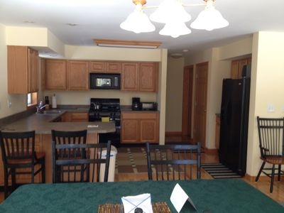 Plenty of room and all the amenities in this kitchen