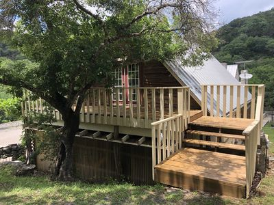 Photo for Tree House Cabin at 7 Canyons Ranch