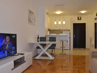 """Photo for 2-bedroom apartment with a seaview """"Podmaine 70"""""""