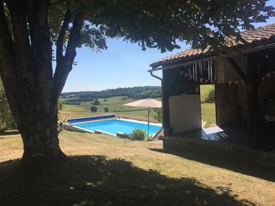 Photo for Beautiful countryside holiday home with heated private pool