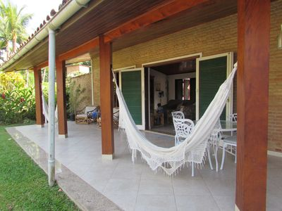 Photo for Large house, Large, Air conditioned, 50m to the beach, 3 Bedrooms, Swimming pool, Barbecue, Wifi