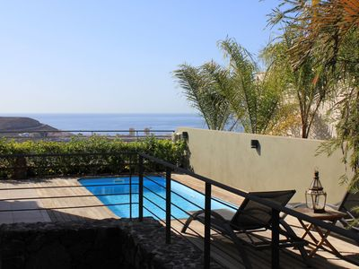 Photo for Wonderful villa, WIfI free private pool, air conditioning BBQ Weber