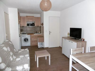 Photo for T2 with garage and Wifi 300 meters from the beach of la Faviére