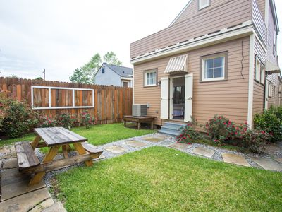 Blocks to FQ, Large, w/Balcony, Private Yard. Ask About Adjacent Property!