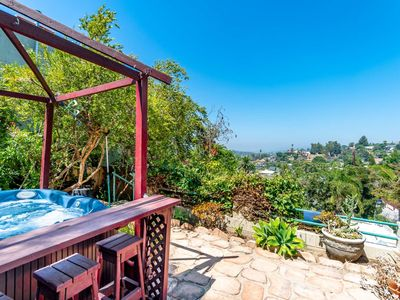 Photo for Enjoy the LA Views from Feng Shui Retreat! Hip Highland Park Area, Pet Friendly, HotTub, 2 King Beds
