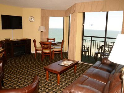 Photo for Patricia Grand 810,  1 Bedroom Oceanfront Condo With Superb Views, Indoor Outdoor Pools, Hot Tub, Lazy River and Kiddie Pool