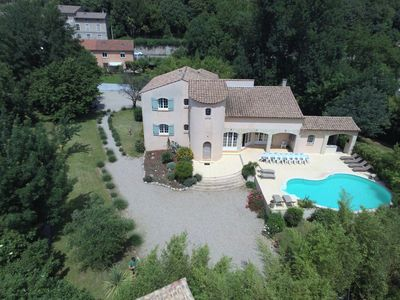 Photo for Fleur de Lys: superb villa in the south up to 19 people