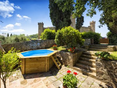 Photo for Villa in Montalcino with 3 bedrooms sleeps 6