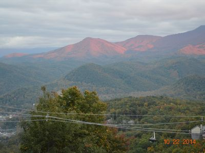Photo for A Million Dollar View! Smoky Mountains - Sarahs Bear Heaven