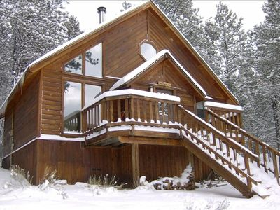 Photo for Minutes to Mountain Fun - Miles of Memories at Year Round Cozy Cabin
