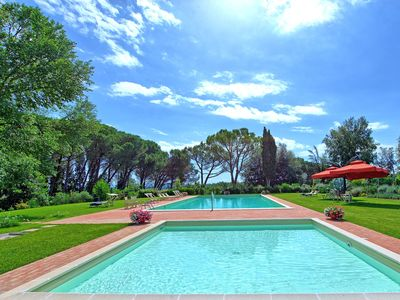 Photo for 10 bedroom Villa, sleeps 22 with Pool, Air Con and FREE WiFi