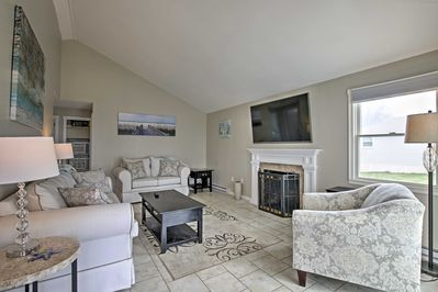 Enjoy privacy and easy access to the beach when you stay at this charming vacation rental cottage.