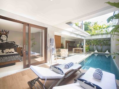 Photo for 1 BR Pool Villa In the Heart of Seminyak