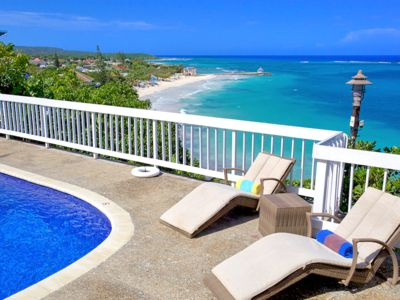 Photo for Killer Sea View, Staffed Seafront Villa with Pool, 4 Beds, 3 Bdrms, (SMV188)
