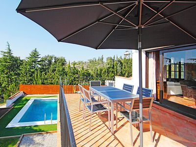 Photo for 4 bedroom Villa, sleeps 8 in Fanals d'Aro with Pool and WiFi