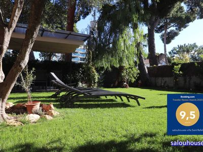 Photo for House with private garden of 300 m2 near the beach for 8 people.