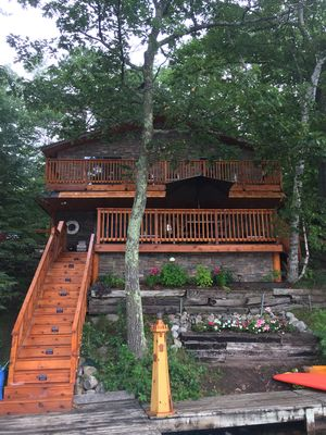 Photo for Newly remodeled lake home ! Steps away from the beautiful pike lake chain