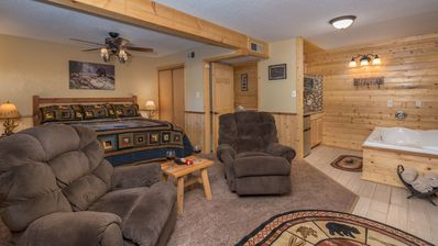 """Photo for Upper Canyon Inn & Cabins - """"Lodge 6"""" - Romantic Whirlpool Suite with Fireplace"""