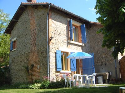 """Photo for The Cottage """"Maison Lavaud"""" is located in the Haute Vienne, Limousin."""