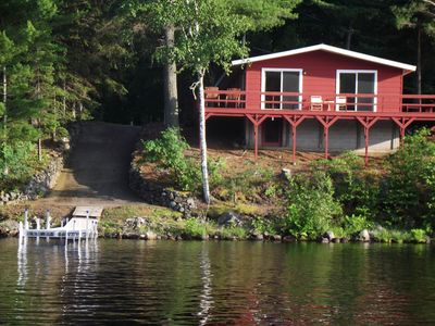Photo for Clean, Spacious Cottage on Beautiful Lake Michigamme, U.P. of Michigan