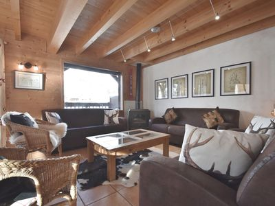 Photo for Ski-in ski out 4 star 5 bed chalet for 15 at the foot of the slopes!