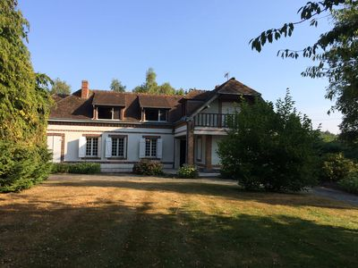 Photo for Rent large country house, 8 people in the Eure