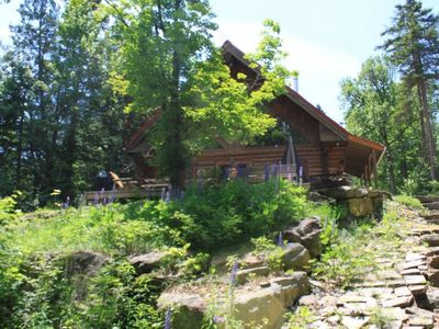 Photo for Chalet Scandinave - Beautiful Log House