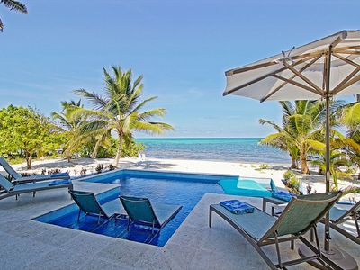 Enjoy days by the pool, white sand beach, and turquoise Caribbean!