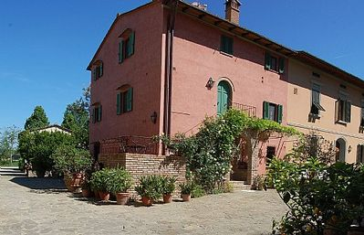 Photo for 2 bedroom Villa, sleeps 4 in Montaione with Pool