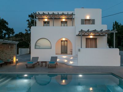 Photo for Naxos Infinity Villa, Blue Suite