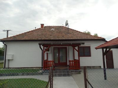 Holiday house with washing machine and terrace