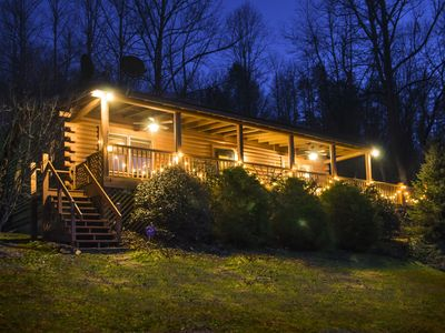Photo for The BLUE RIDGE CABIN at STONELEDGE...  Your Perfect Mountain Getaway Awaits!