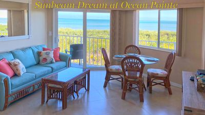 Your view from Sunbeam Dream kitchen and living room!