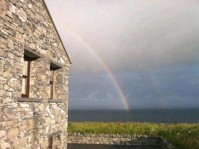 Photo for Directly on the Wild Atlantic Way,Free Wifi,Cable TV, BBQ Grill, 2 Fireplaces