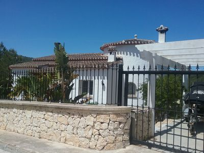 Photo for Beautiful villa located in Javea just 5 minutes drive from the beach front .