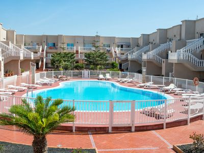 Photo for Apartment with pool in Caleta de Fuste