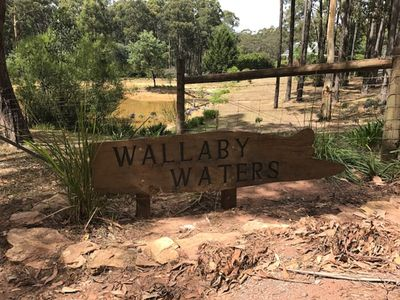 Photo for Wallaby Waters is a beautiful country house set on 5 acres