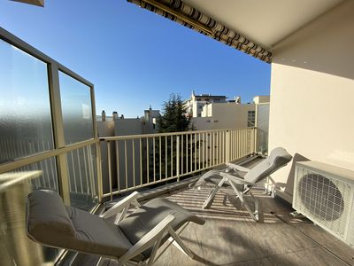 Photo for Design apartment, 2 terraces, 3 minutes from the sea and all shops