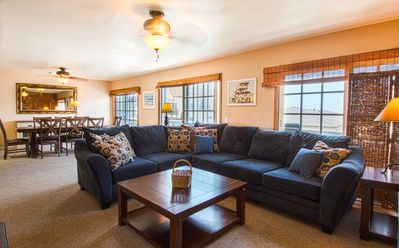 Photo for A fun and family-friendly upper unit with multiple decks to perfect that suntan