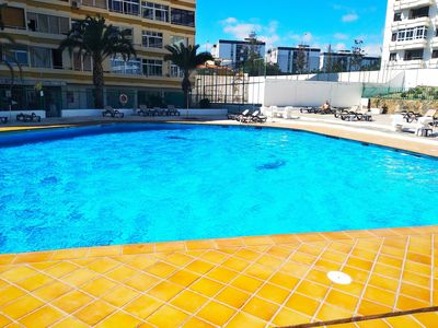 Photo for NEW APARTMENT PLAYA DEL INGLES, TERRACE, SWIMMING POOL
