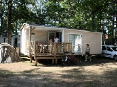 Photo for Camping Domaine du Lac Miel **** - Mobil Home Comfort 3 Rooms 4 People