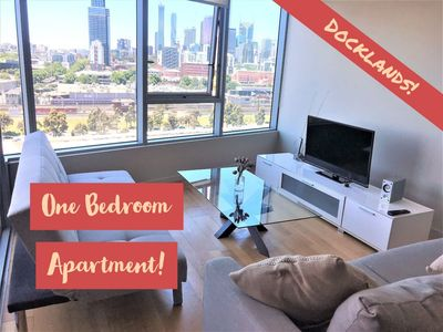 Photo for Waterfront Large 1BR with Resort Facilities close to Marvel Stadium!