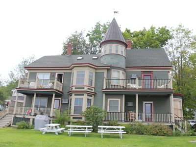 Photo for Elegant condo on the water in downtown Wolfeboro